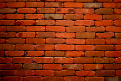 Старая текстурированная предпосылка кирпичной стены grunge Стоковые Фотографии RF