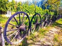 Старая тележка колеса Стоковая Фотография RF