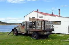 Старая тележка на имуществе Herberton доджа Стоковое Фото