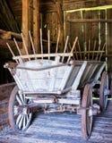 Старая тележка сена Стоковая Фотография RF