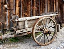 Старая тележка сена Стоковое Изображение