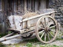 Старая тележка Стоковая Фотография