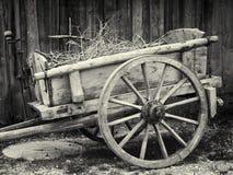 Старая тележка Стоковые Фотографии RF