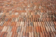 Старая традиционная керамическая текстура tiling Стоковая Фотография