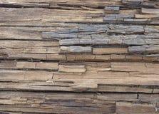Старая треснутая деревянная текстура с темным отверстием Стоковое Изображение RF