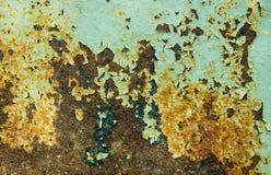 Старая треснутая краска Стоковое фото RF