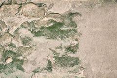 Старая треснутая стена гипсолита Стоковое фото RF