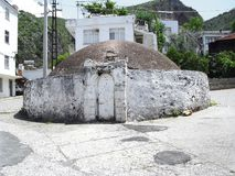 Старая турецкая ванна в улице города Fethiye Стоковая Фотография