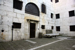 старая тюрьма стоковое фото rf