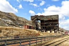 Старая угольная шахта Стоковые Изображения RF