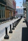 Старая улица Сан-Хуана Стоковые Фото