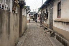 Старая улица Стоковые Фотографии RF