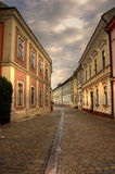 старая улица Стоковая Фотография