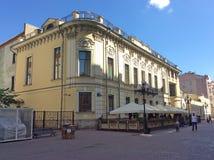 Старая улица Arbat, Москва Стоковая Фотография