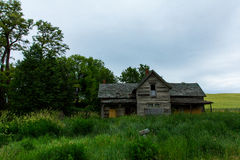 Старая усадьба в весьма восточном штате Вашингтоне Стоковое фото RF