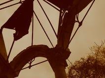 Старая усадьба, покинутый парк, Стоковая Фотография RF