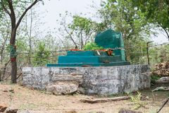 Старая усыпальница или Mazaar Святого Sufi Стоковые Фотографии RF