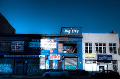 Старая улица Бруклина Стоковые Фотографии RF