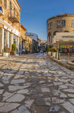 Старая улица в Veliko Tarnovo Стоковые Изображения