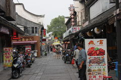 старая улица Стоковое Изображение RF