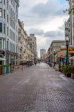 Старая улица Arbat Стоковое Изображение RF