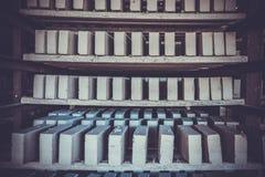 Старая фабрика для продукции бледных кирпичей от глины для buil Стоковое Изображение RF