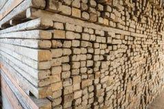 Старая фабрика для продукции бледных кирпичей от глины для buil Стоковые Фото
