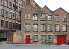Старая фабрика делать шнурка улицы Альфреда Стоковое Изображение RF