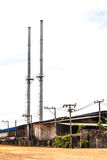 Старая фабрика и улучшения Стоковое Изображение