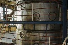 Старая фабрика сахара Стоковые Изображения