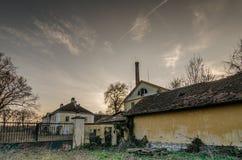 Старая фабрика с стробом Стоковое Изображение RF