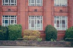 Старая фабрика ткани возобновленная как музей Стоковая Фотография RF
