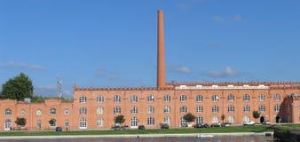 Старая фабрика Стоковые Фотографии RF
