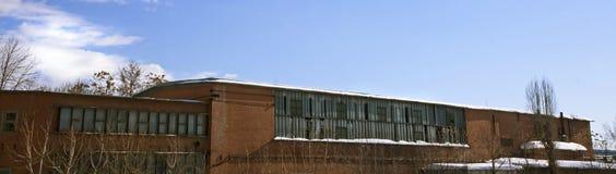 Старая фабрика Стоковая Фотография