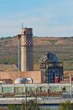 Старая фабрика Стоковое Изображение