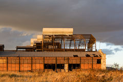 Старая фабрика Стоковое Фото