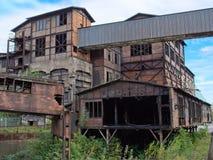 старая фабрики промышленная стоковая фотография