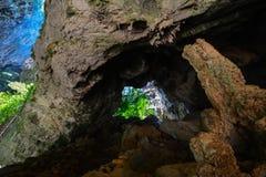 Старая фантастическая пещера Стоковые Изображения RF