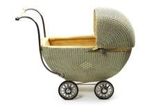 старая фасонируемая детской дорожной коляской Стоковые Фото