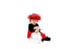 старая фасонируемая младенцем Стоковая Фотография