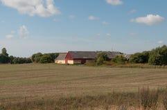 Старая ферма в Naestved в Дании Стоковое Изображение RF