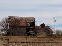 Старая ферма/новая ферма Стоковое Изображение