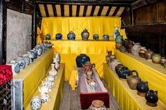 Старая фольклорная гончарня Китая стоковые изображения