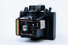 Старая фотокамера Поляроид Стоковое Изображение