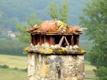 Старая французская печная труба Стоковое Изображение