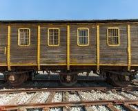 старая фура поезда стоковое изображение rf