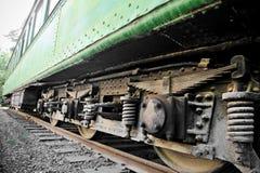 старая фура поезда Стоковое Фото