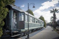 старая фура поезда стоковые изображения