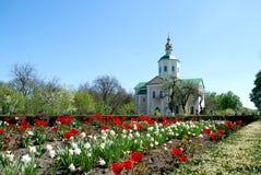 Старая христианская церковь Стоковое фото RF