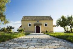 Старая церковь в ажио Georgios Стоковые Изображения